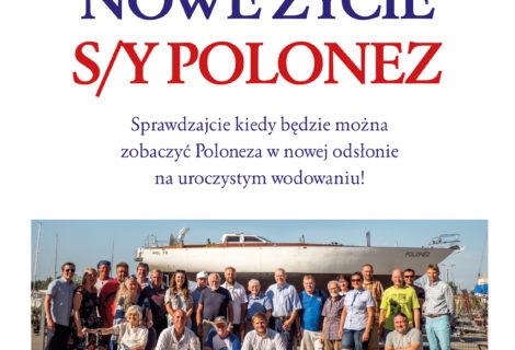 Nowe życie s/y POLONEZ
