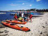 Porty Bornholmu. Wyprawa kajakami dookoła wyspy Bornholm 2018
