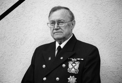 Kapitan Janusz Charkiewicz odszedł na wieczną wachtę. Żegnaj kolego.