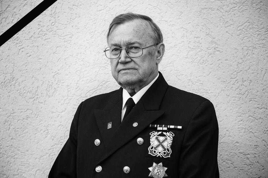 Kapitan Janusz Charkiewicz odszedł na wieczną wachtę. Żegnaj wspaniały kolego.