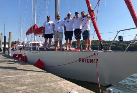 Burzliwa historia jachtu Polonez. Podniesienie bandery i nowy rozdział.