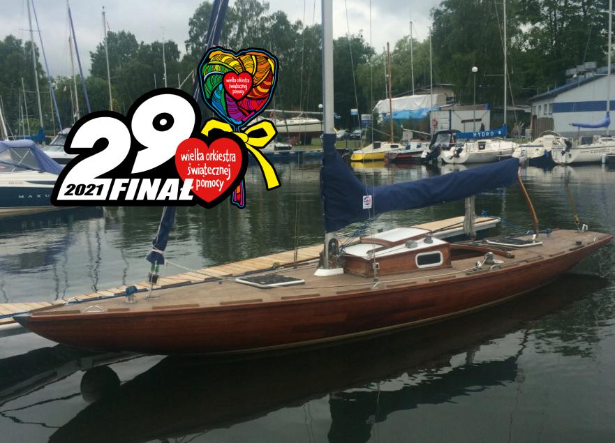 WOŚP licytacja jachtu żaglowego Desperado do 14 lutego 2021