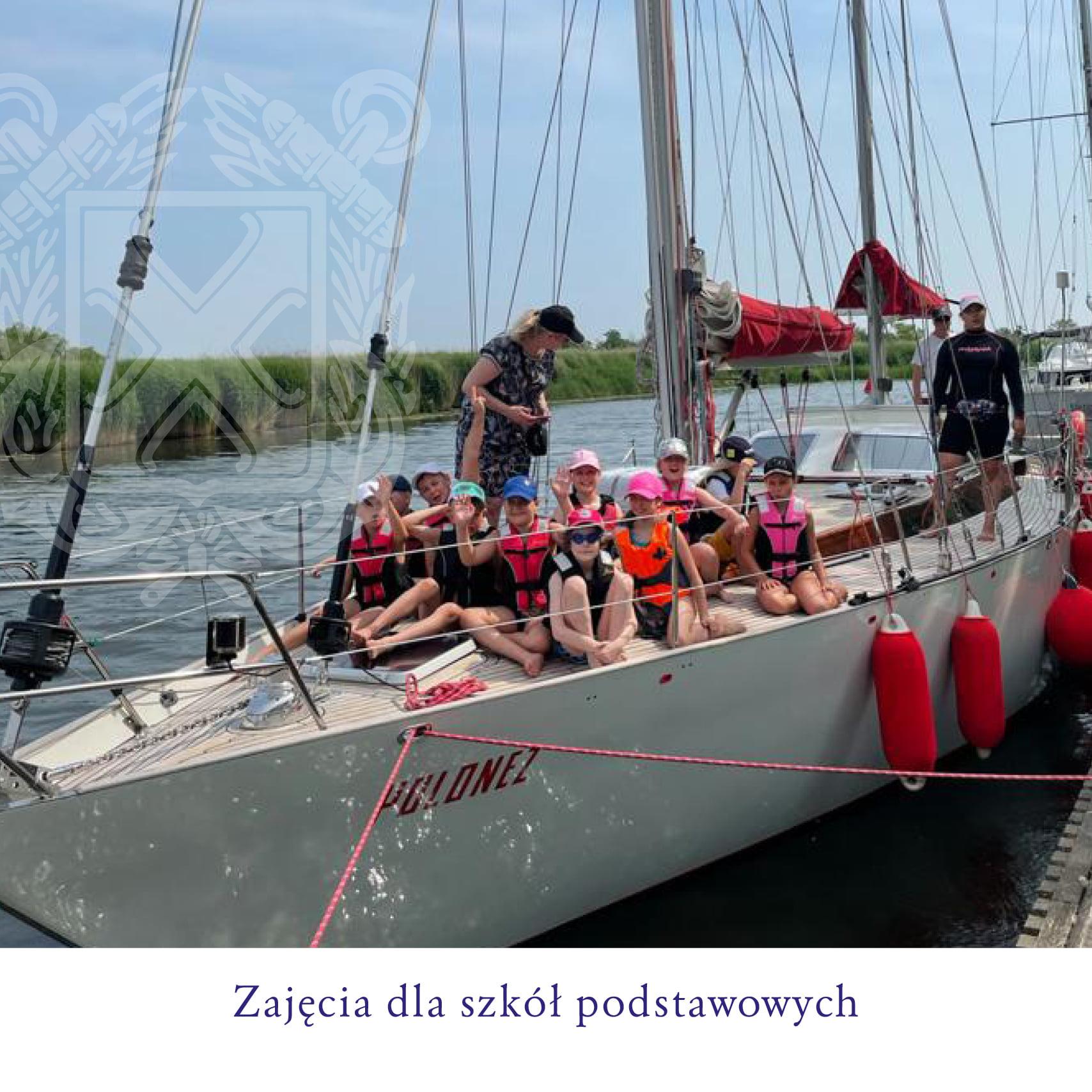 YKP Szczecin promuje żeglarstwo wśród młodzieży