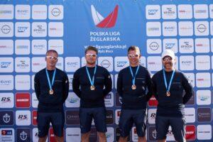 Trzecia runda 1 Ligi Polskiej Ligi Żeglarskiej na półmetku. Szczecin nie zawiódł!